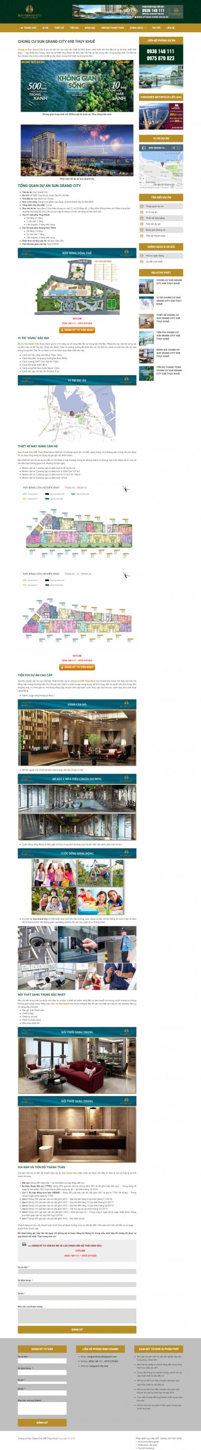 Giao diện website Bất động sản Z - 40