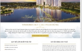 5 mẫu giao diện website bất động sản giá rẻ nhất tại Zland