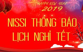 Thông báo nghỉ tết âm lịch - Chúc mừng năm mới  2019