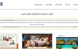 Lựa chọn đơn vị thiết kế khi làm website cho khách sạn