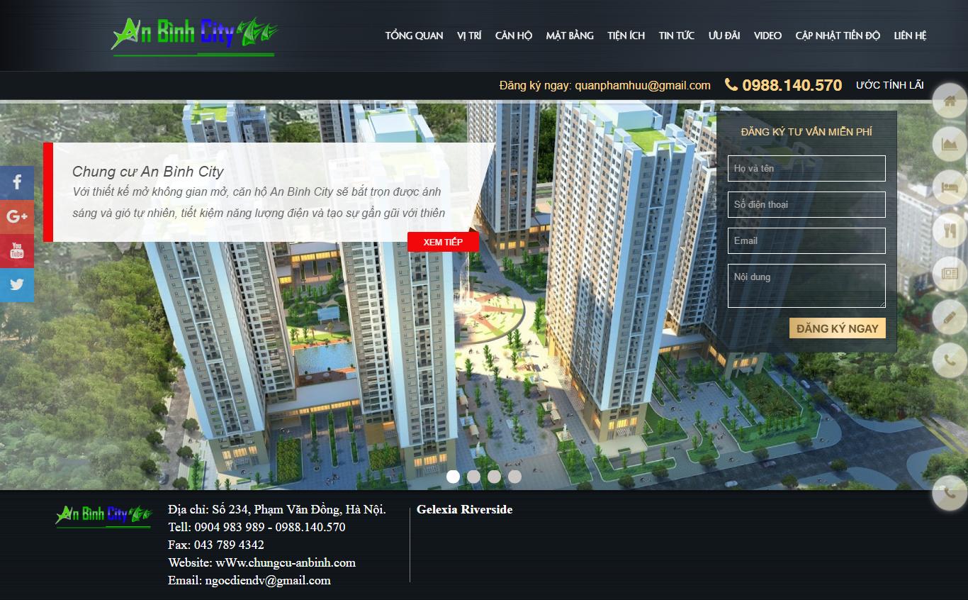 Giao diện website Bất động sản Z - 46