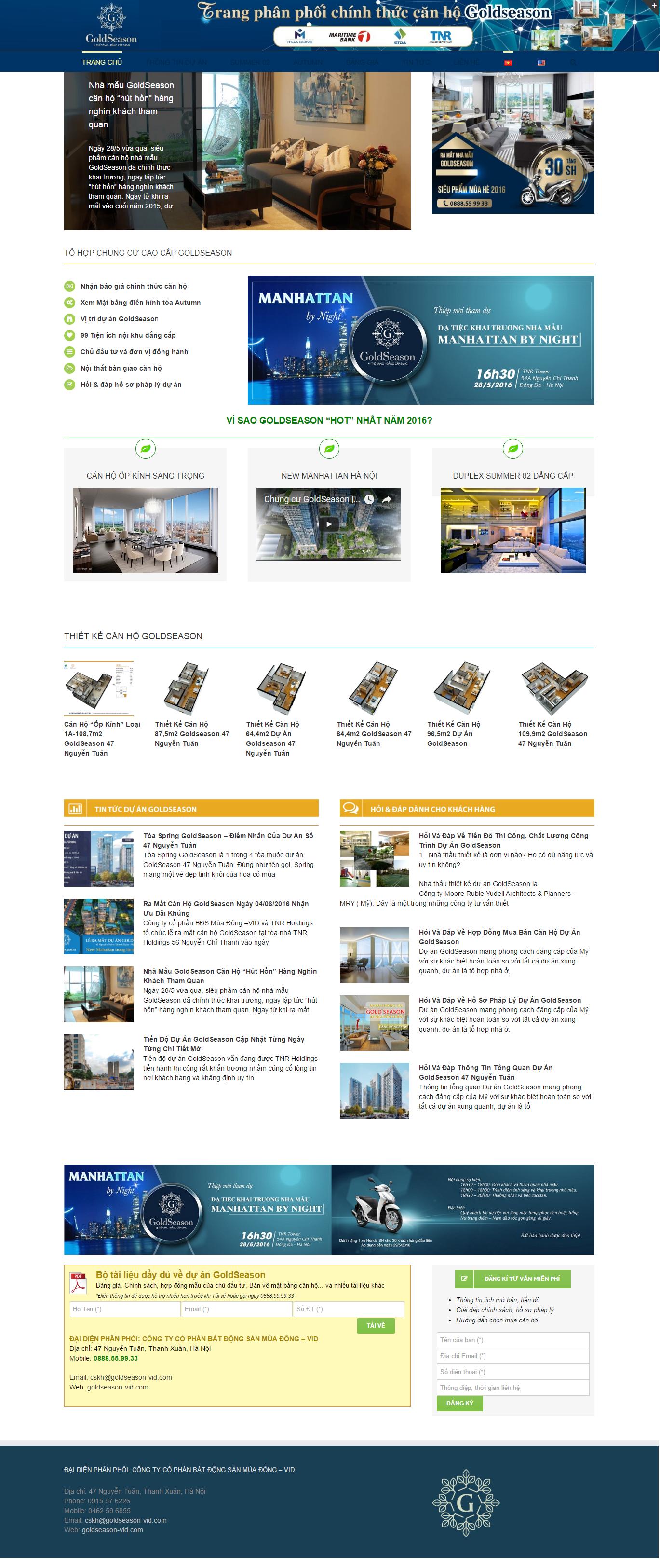 Giao diện website Bất động sản Z - 49