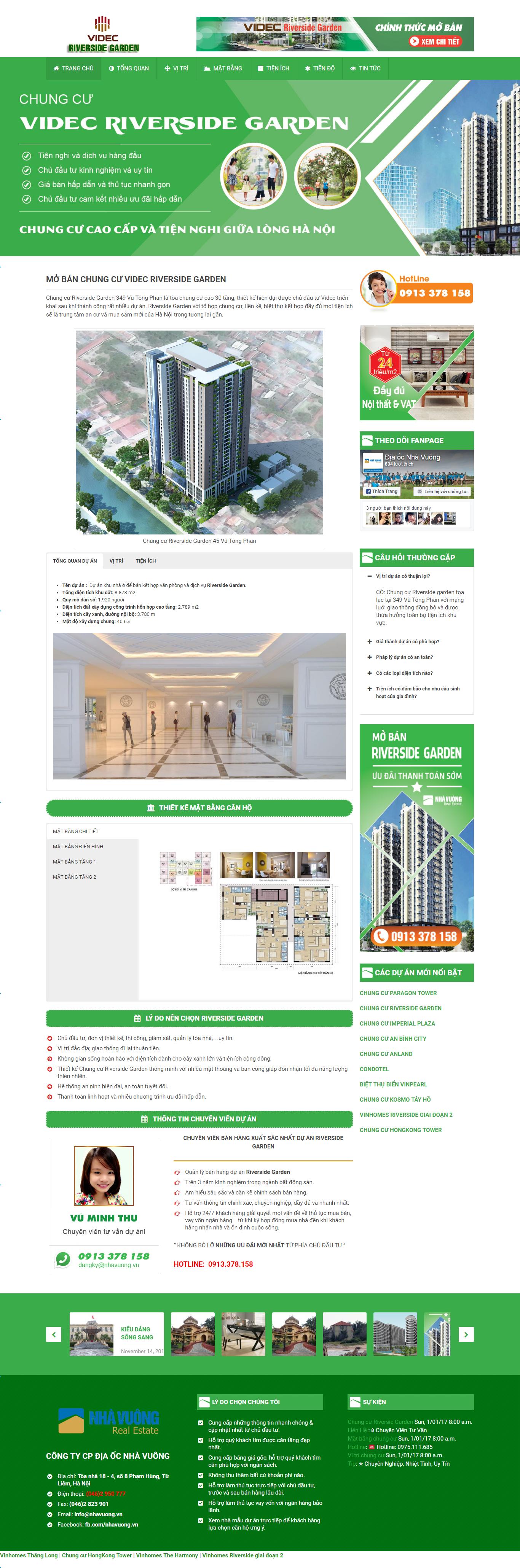 Giao diện website Bất động sản Z - 50
