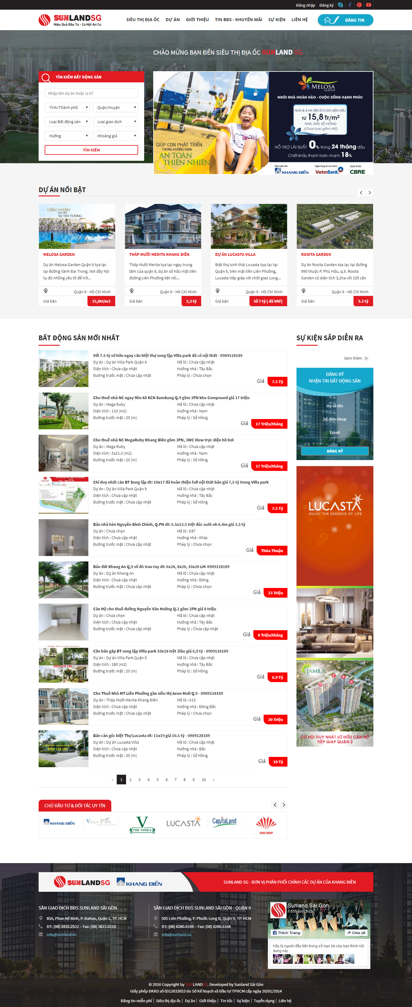 Giao diện website Bất động sản Z - 227