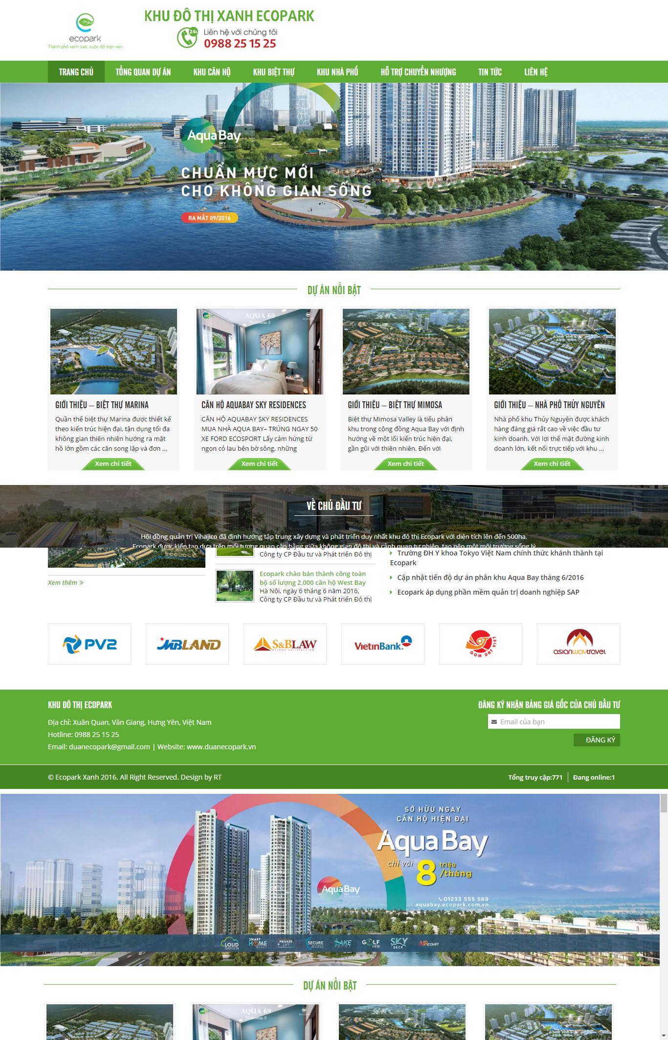 Giao diện website Bất động sản Z - 58
