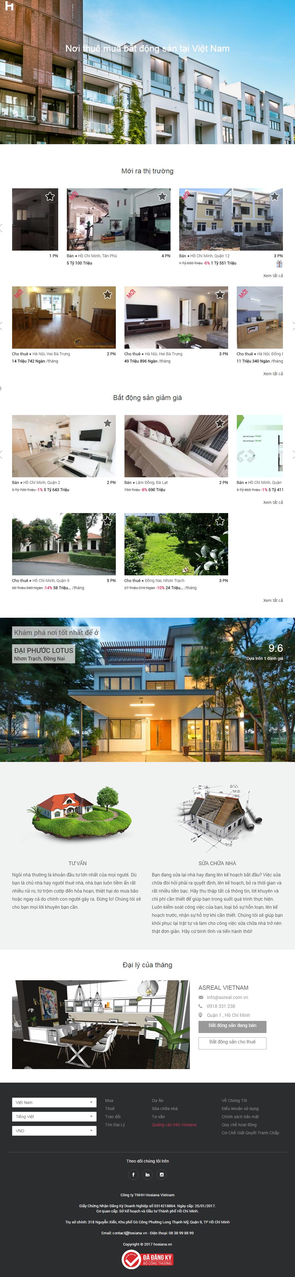 Giao diện website Bất động sản Z - 279