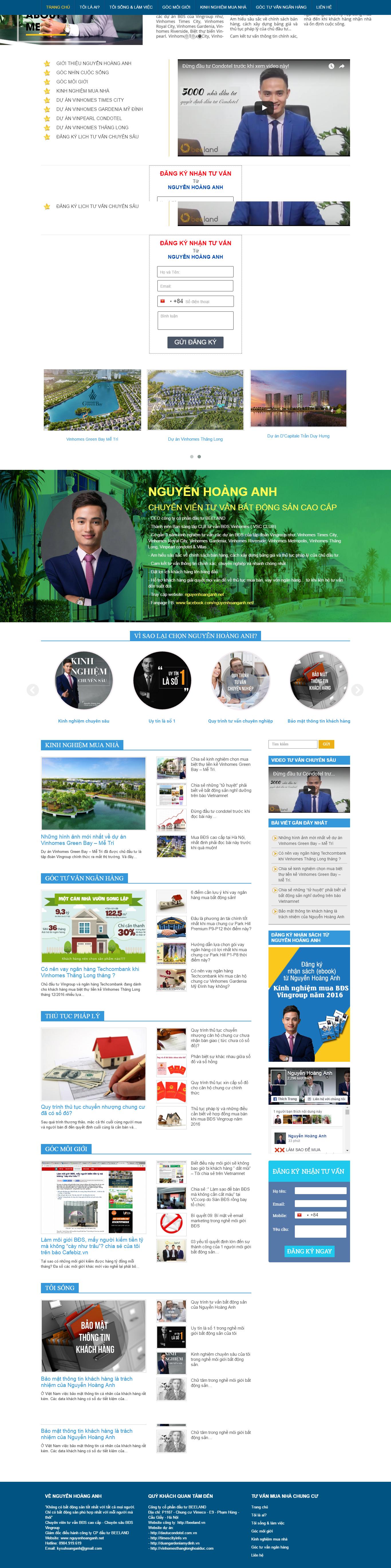 Giao diện website Bất động sản Z - 68