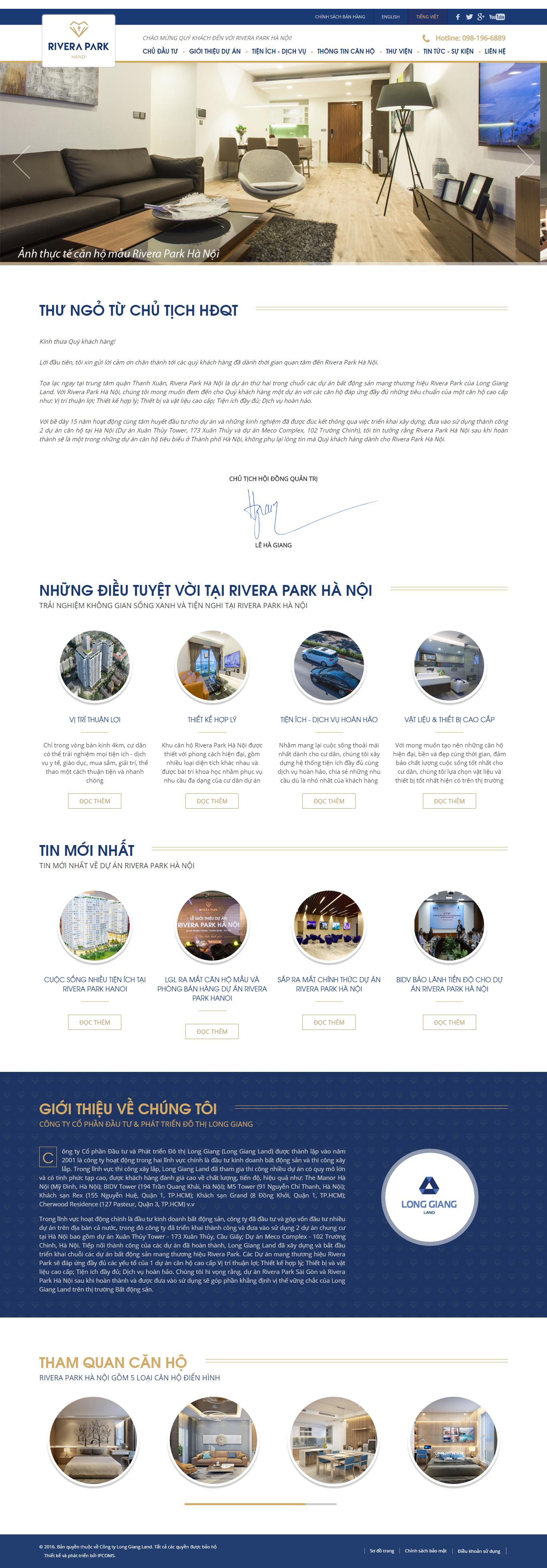 Giao diện website Bất động sản Z - 9