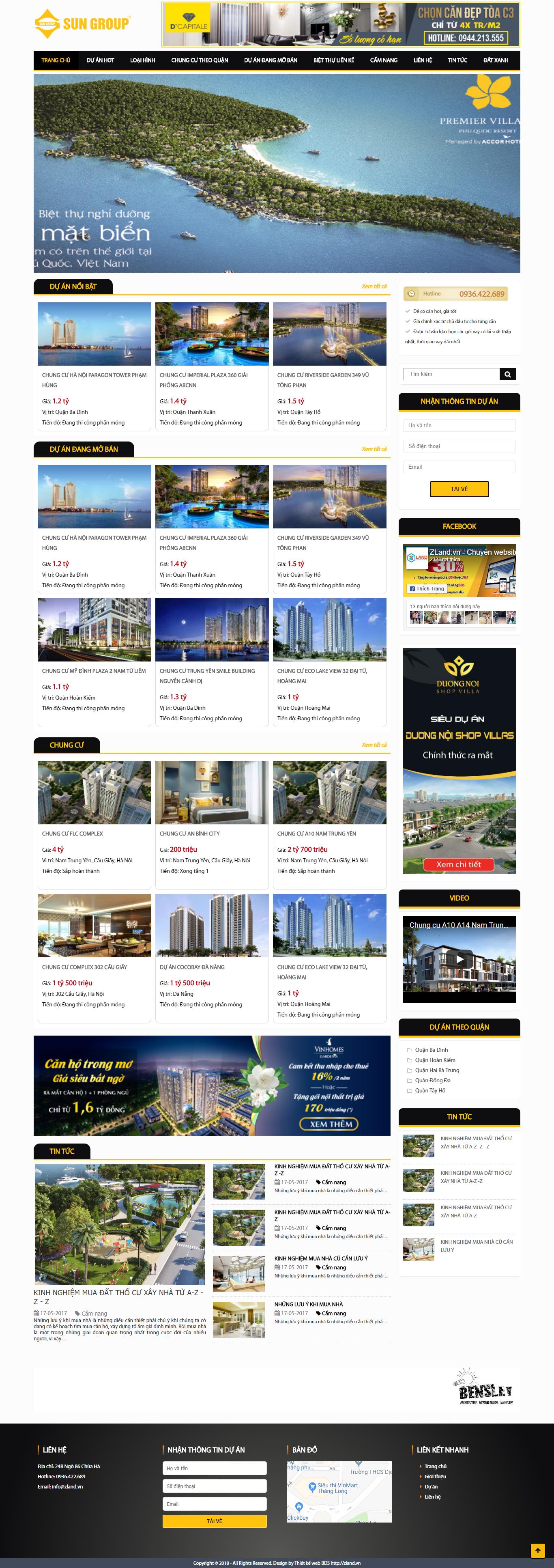 Giao diện website Bất động sản Z - 56
