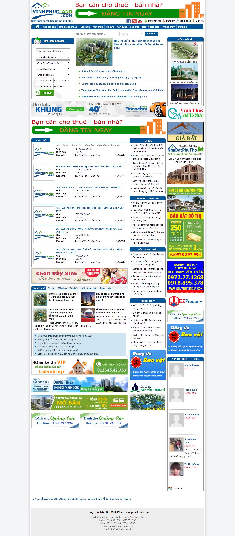 Giao diện website Bất động sản Z - 187