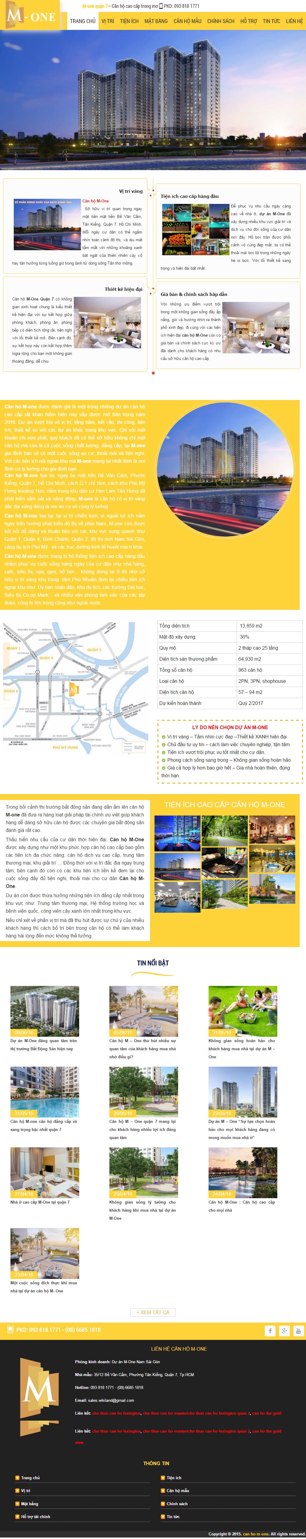 Giao diện website Bất động sản Z - 235