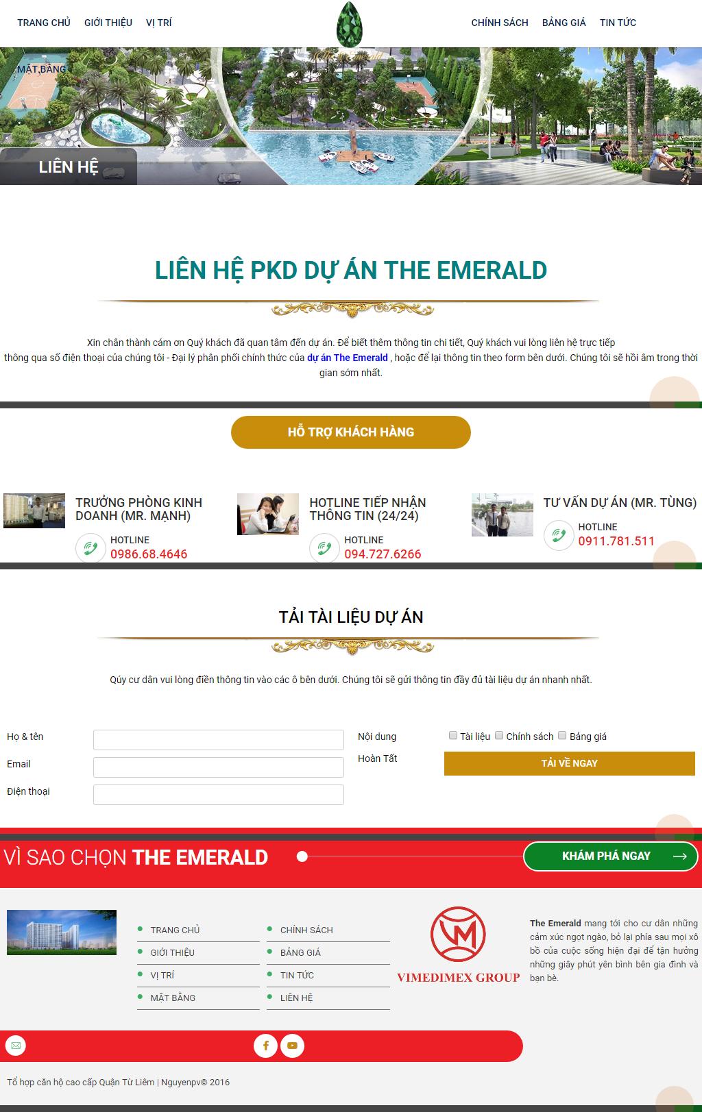 Giao diện website Bất động sản Z - 230