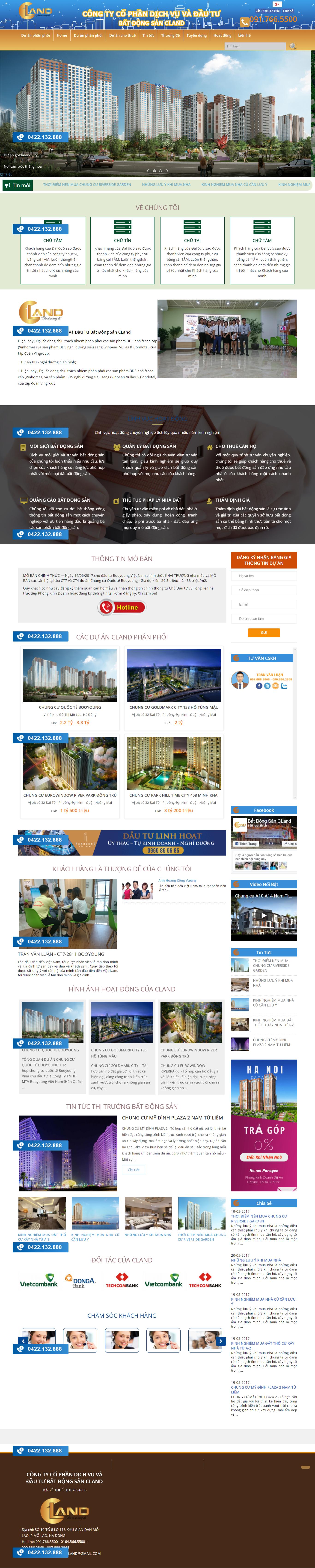 Giao diện website Bất động sản Z - 331