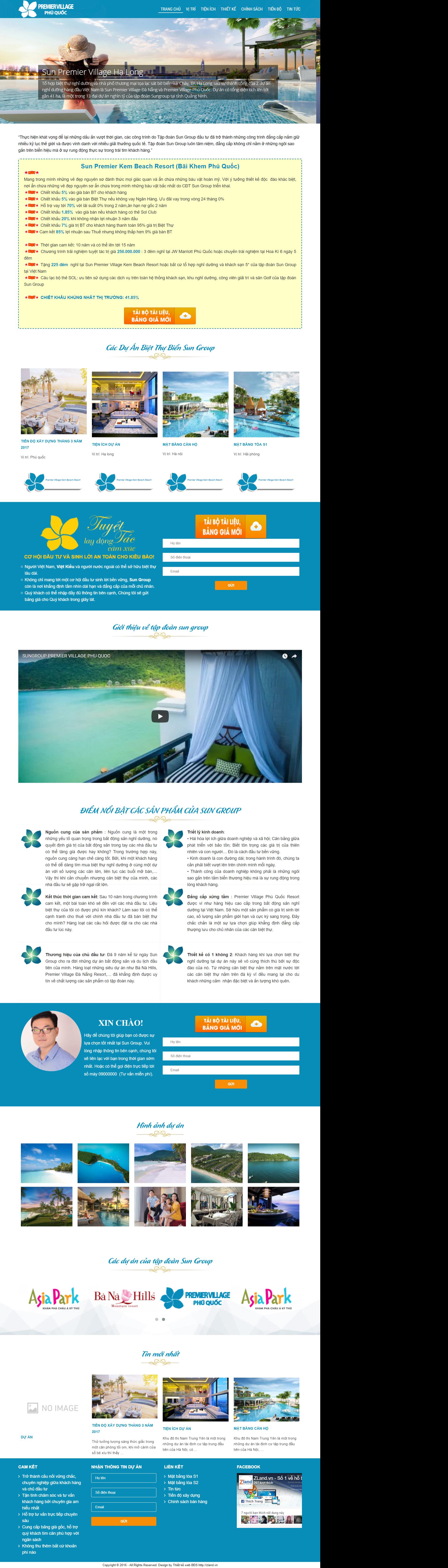 Giao diện website Bất động sản Z - 313