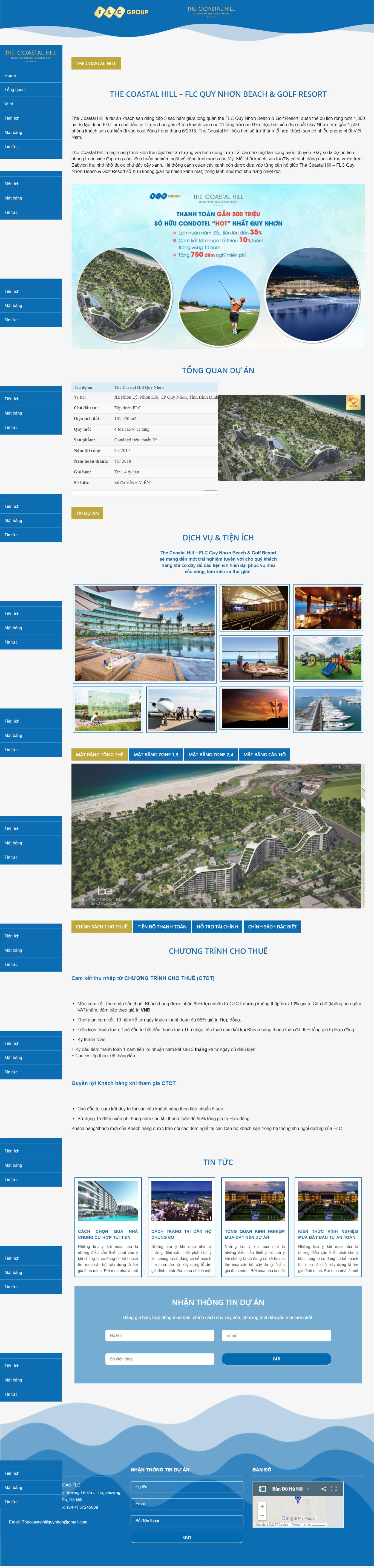 Giao diện website Bất động sản Z - 324