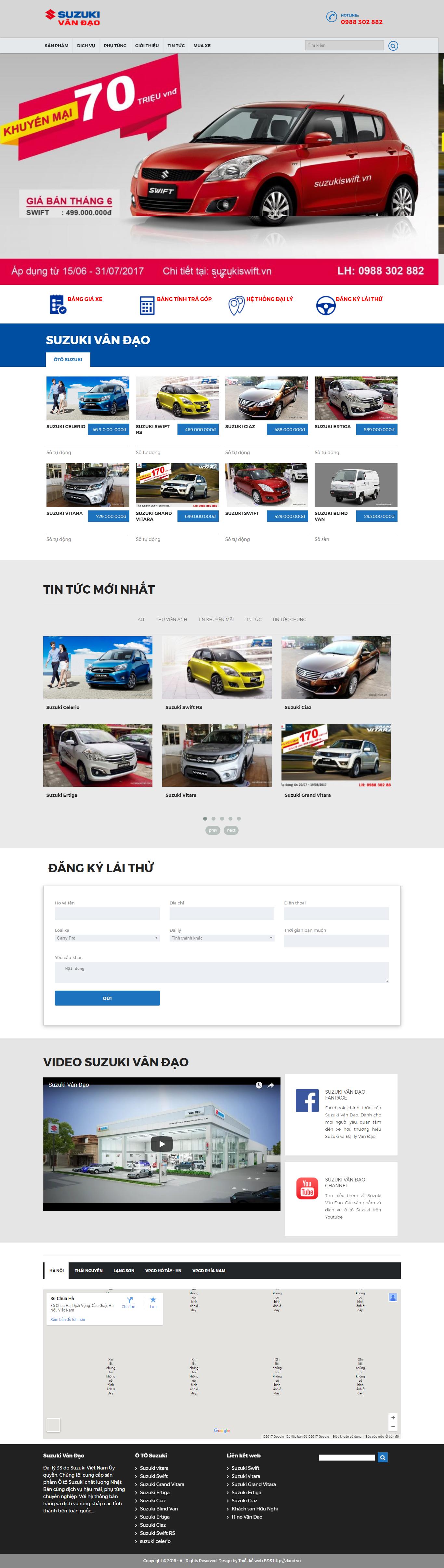 Giao diện website Bất động sản Z - 323