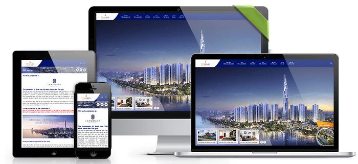 thiết kế website thân thiện với di động