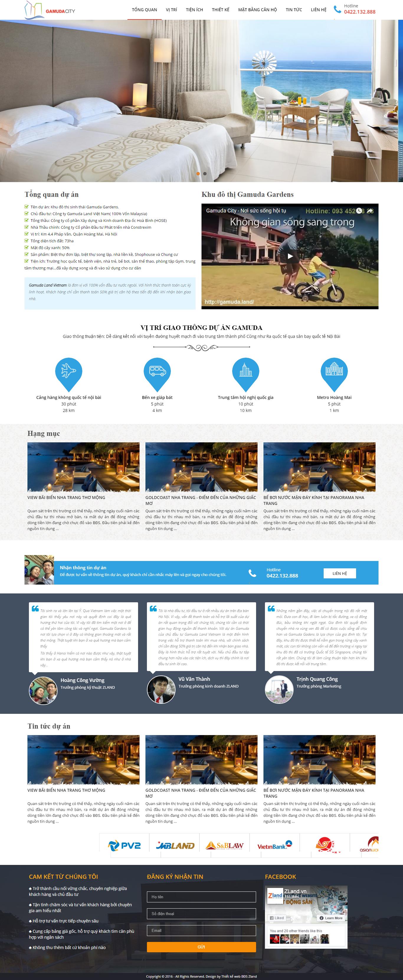 Giao diện website Bất động sản Z - 119