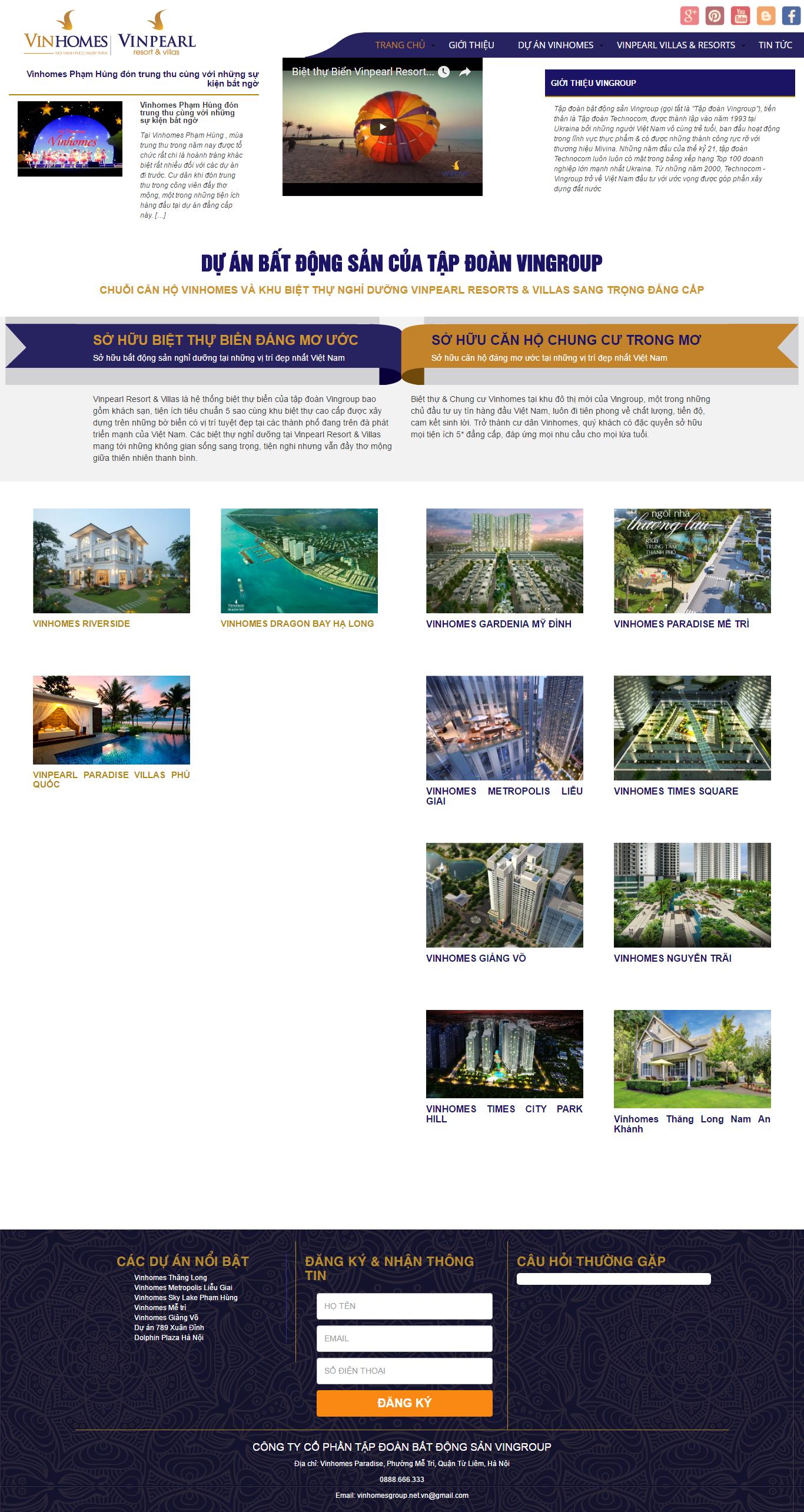Giao diện website Bất động sản Z - 87
