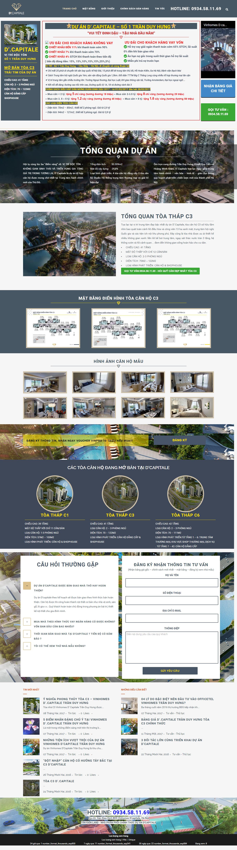 Giao diện website Bất động sản Z - 99