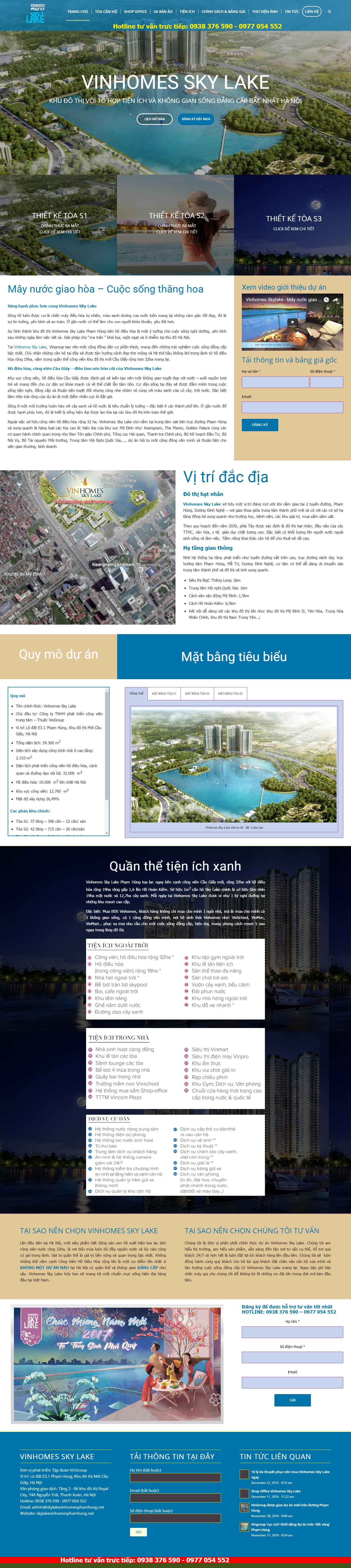 Giao diện website Bất động sản Z - 101