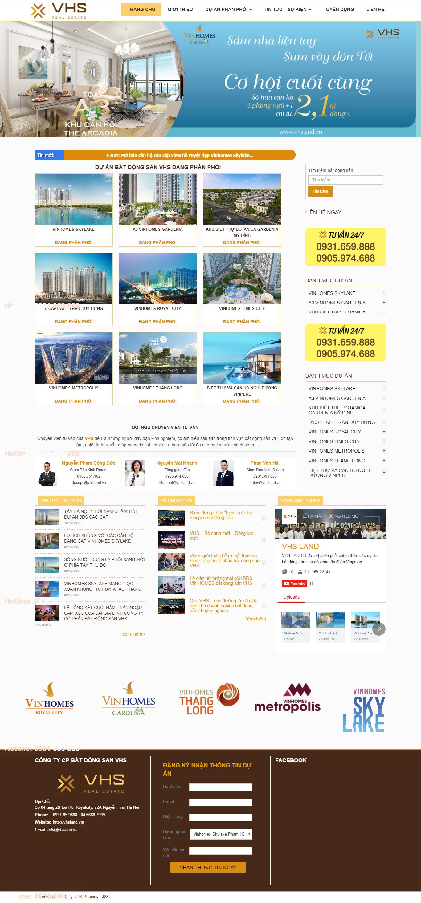 Giao diện website Bất động sản Z - 103