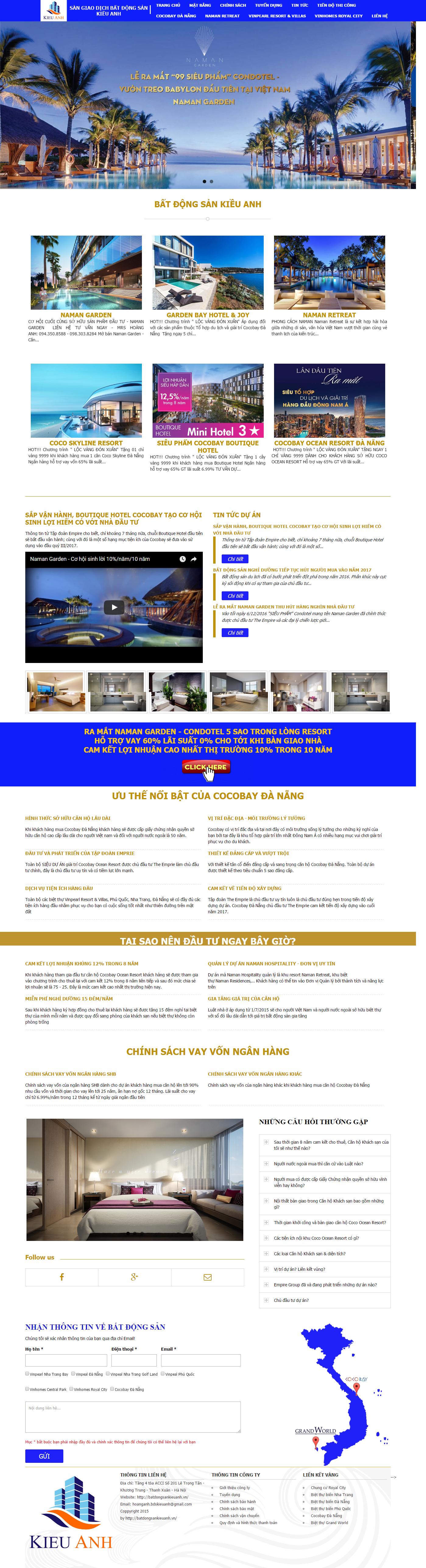 Giao diện website Bất động sản Z - 106