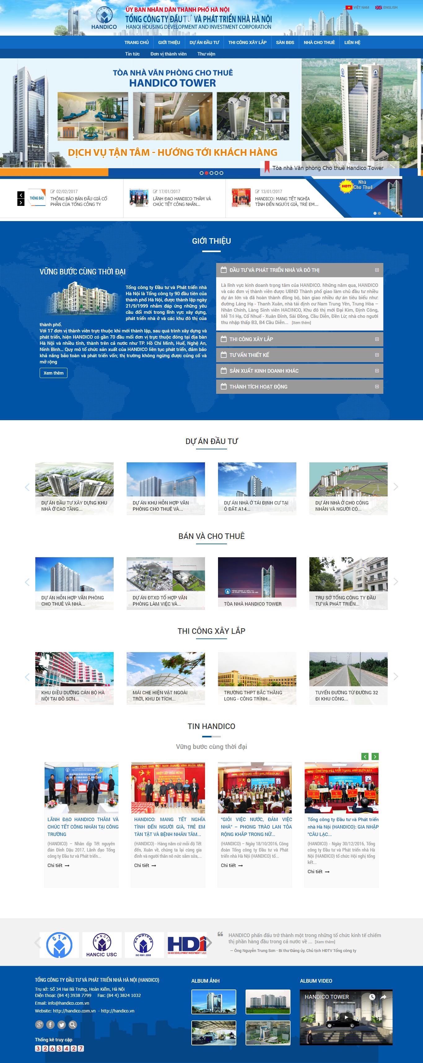Giao diện website Bất động sản Z - 112