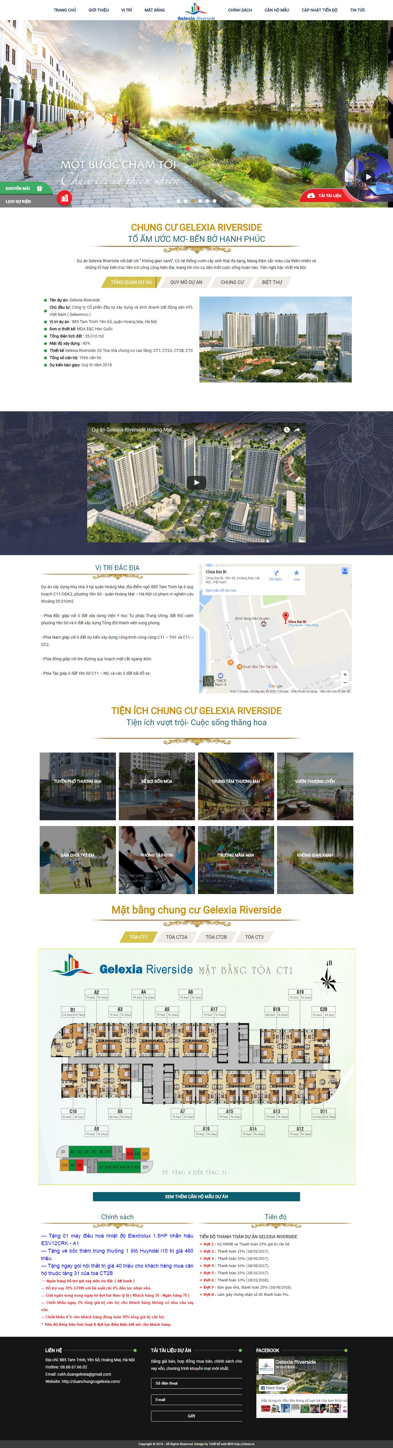 Giao diện website Bất động sản Z - 125