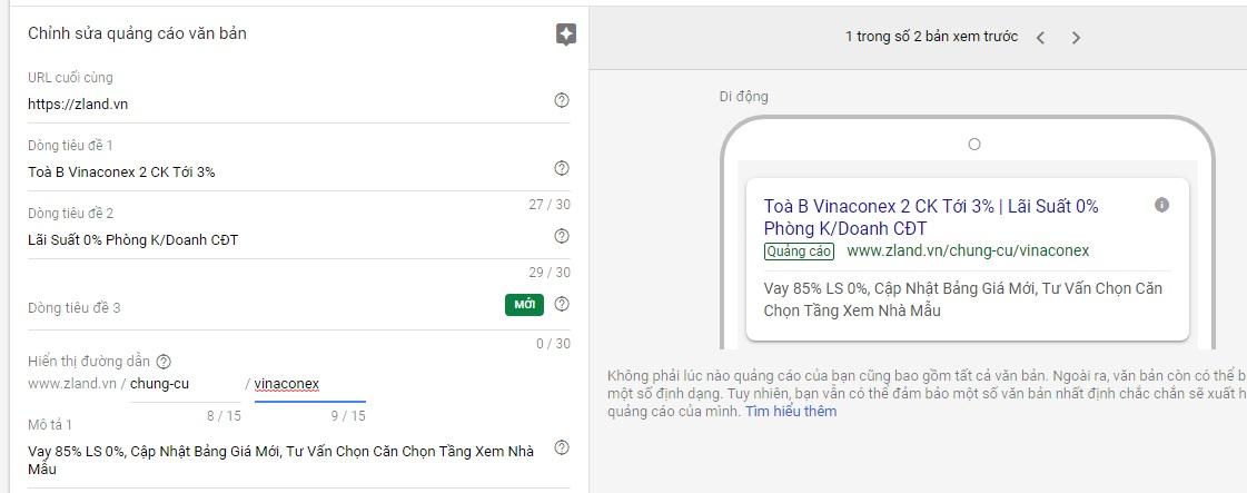 quang cao googel ads