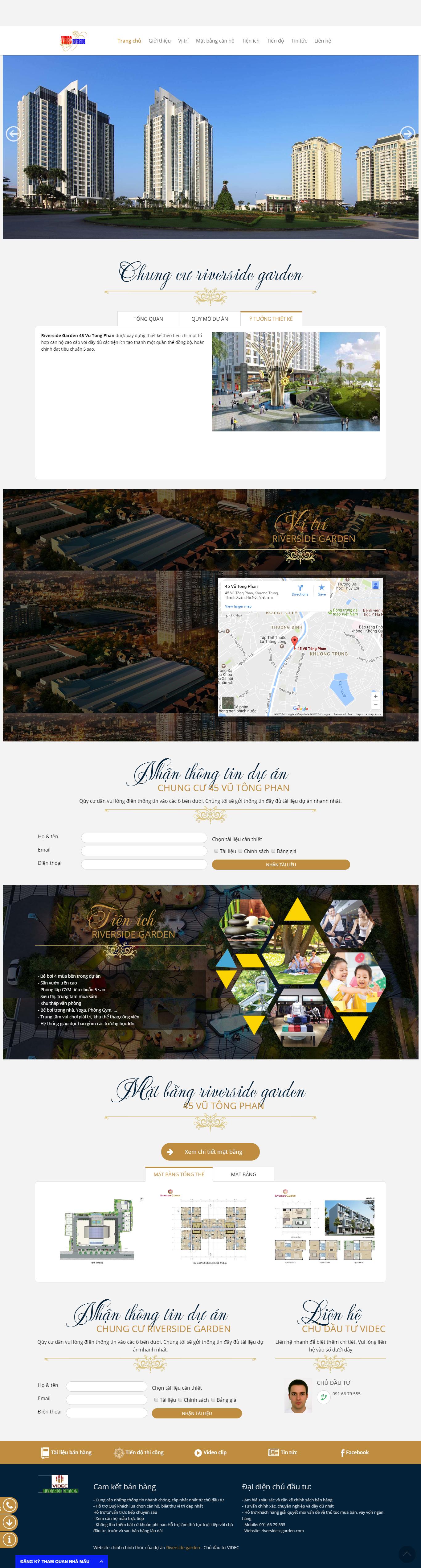 Giao diện website Bất động sản Z - 10