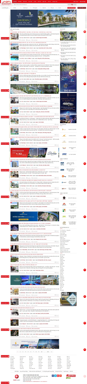 Giao diện website Bất động sản Z - 190