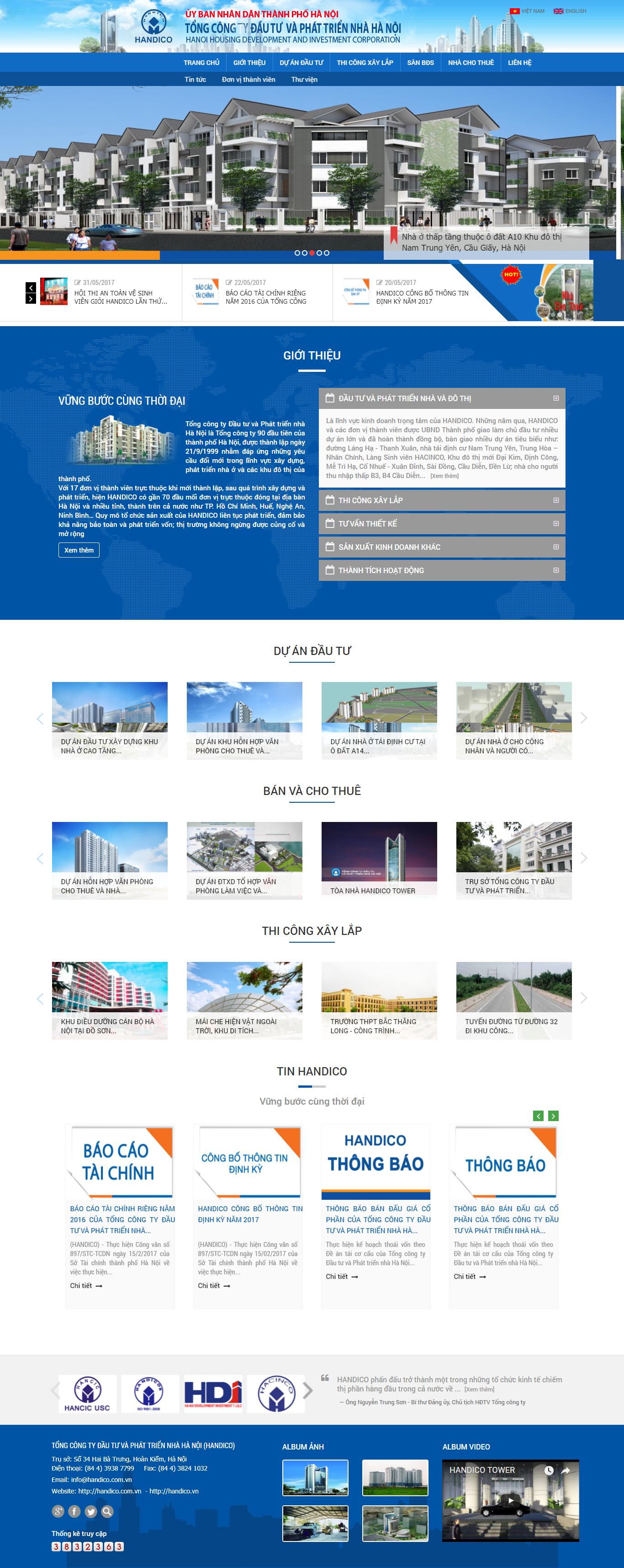 Giao diện website Bất động sản Z - 199