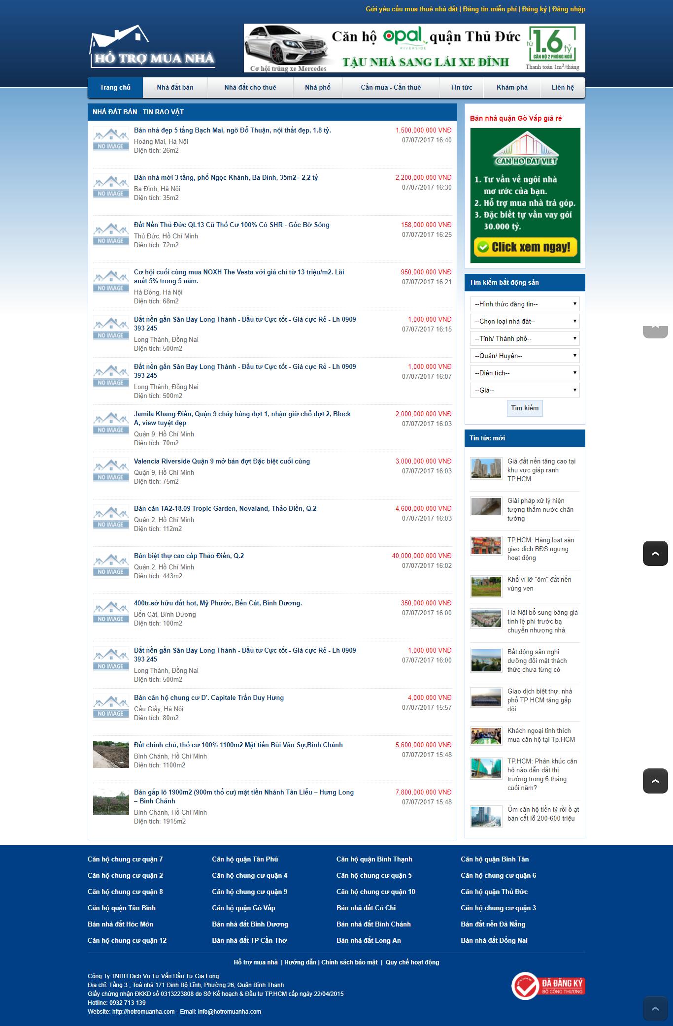 Giao diện website Bất động sản Z - 195