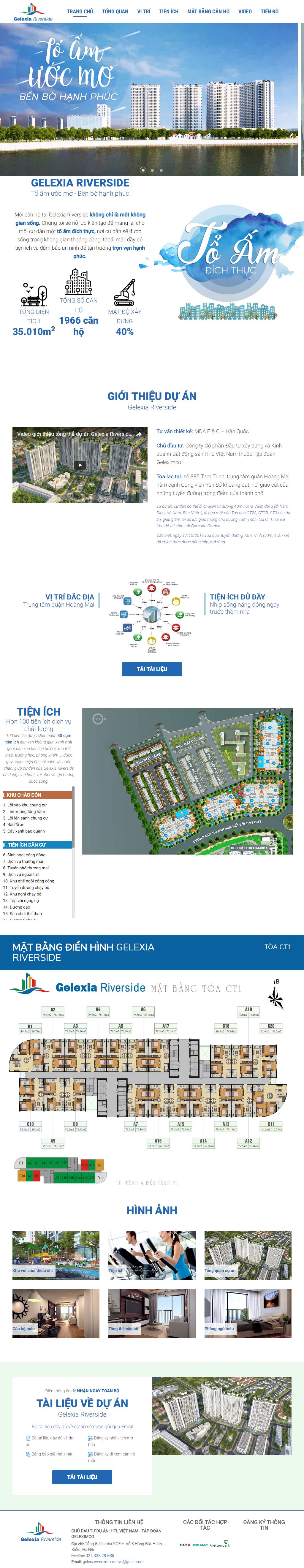 Giao diện website Bất động sản Z - 232