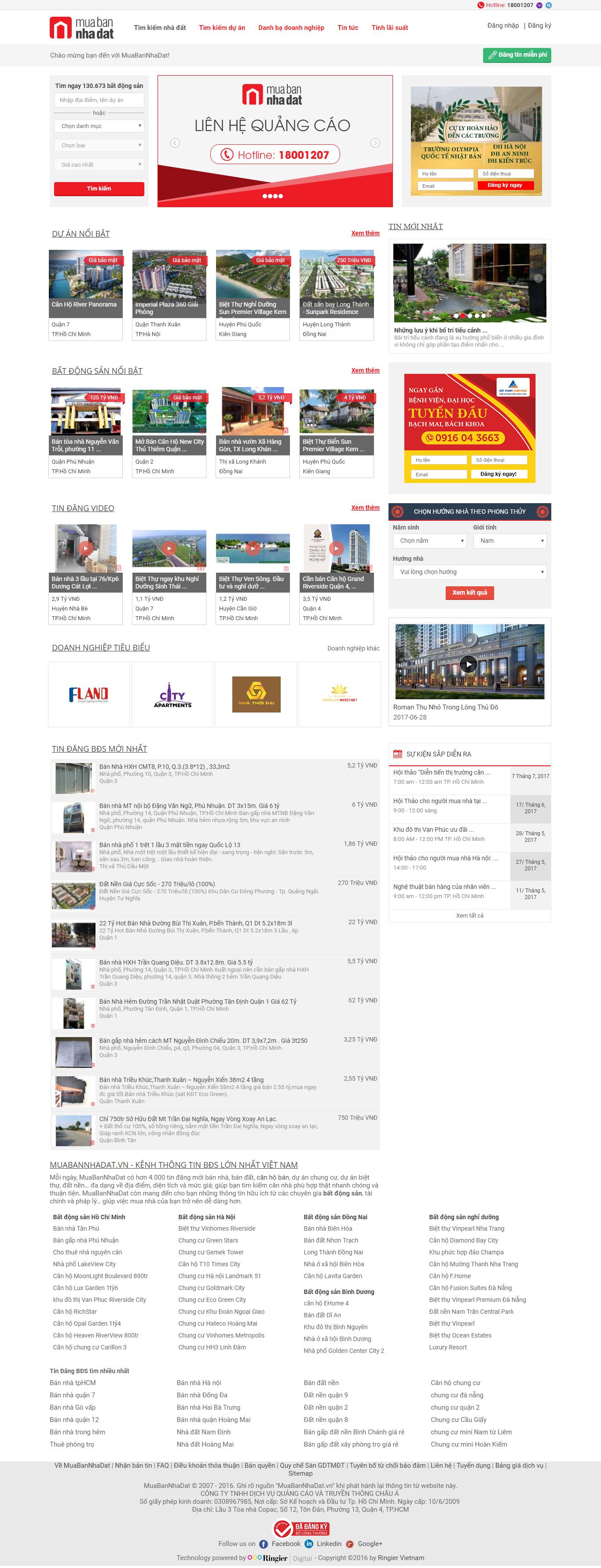 Giao diện website Bất động sản Z - 191