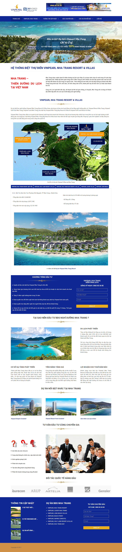 Giao diện website Bất động sản Z - 215