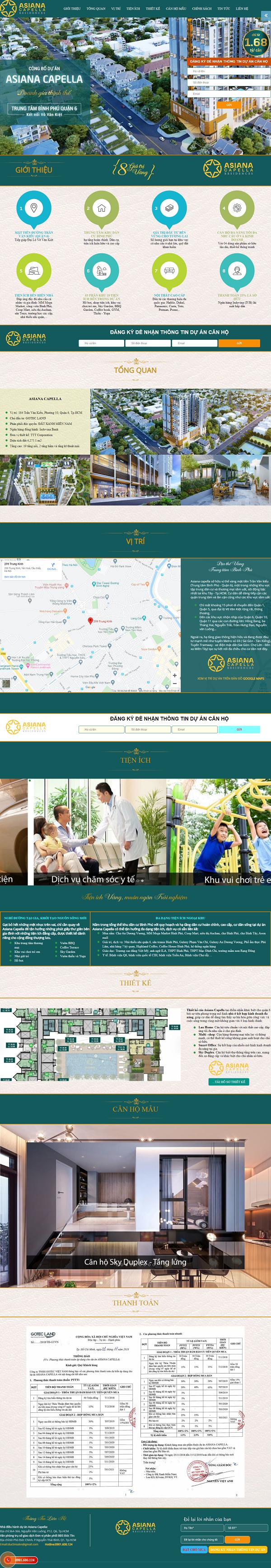 Giao diện website BĐS z465